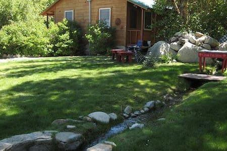 Elani Lodge Crowley Lake 02 - Kisház