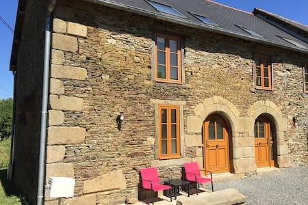 400-year old stone cottage - Bazouges-la-Pérouse - Dom