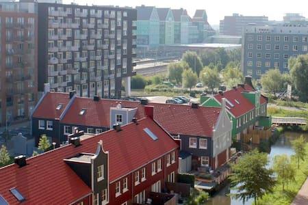 **luxury loft apartment with authentic view** - Zaandam - Lakás