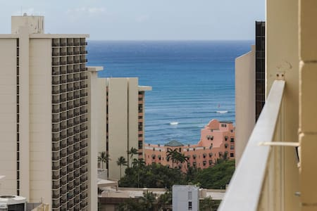 Ocean View Studio w/ Free Parking - Honolulu - Apartment