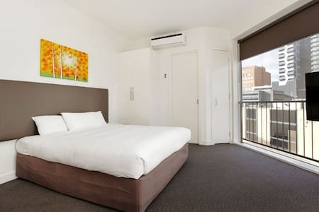 Private Studio on steps of the CBD - South Melbourne - Appartement