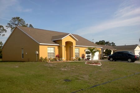Place of comfort tranquility - Port St. Lucie - Huis