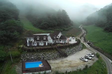 산꽃다지_아름다운 자연 속의 힐링캠프 민둥산하이원민박 - Nam-myeon, Jeongseon - House