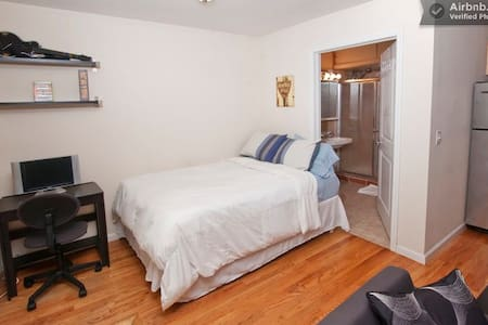 Private Apt Minutes to Times Square - Weehawken - Appartement