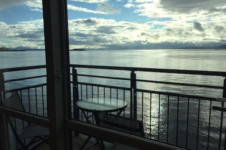central,amazing view,high standard - Harstad - Apartamento