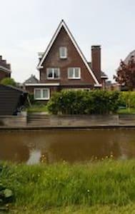 Villa vlakbij Amsterdam te huur, 3 min van Station - Assendelft - Villa