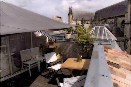 Toit-terrasse vue 360° (roof ter.) - Leilighet