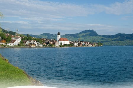 Spacious house close to the Lake of Lucerne - House