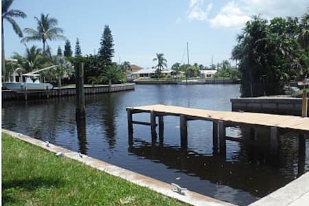 Water views, Canal front Florida home. - Palm City