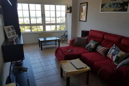 Magnífico DUPLEX, habitación con vistas al MAR - Lägenhet