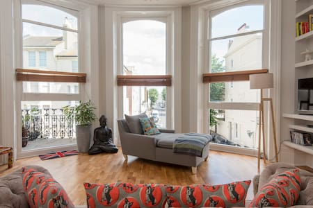 Brighton Beautiful Sea View Flat - Brighton - Apartamento
