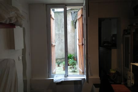 Shared Studio in the center of Paris. - Appartamento