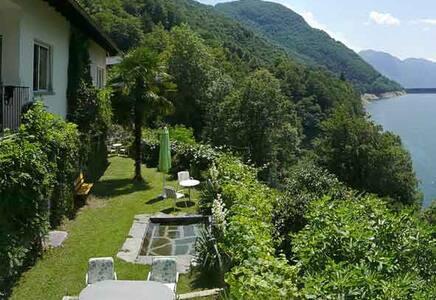 Gartenwohnung Casa Lucertola - Vogorno - Huoneisto