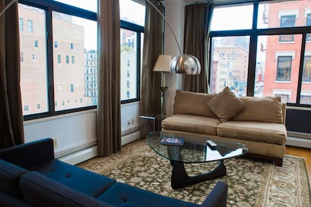 Brightly Skylit 3 Bedroom Soho Loft - New York - Apartment
