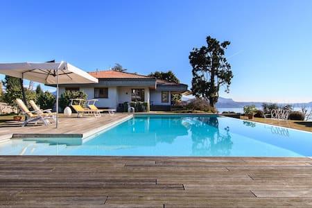 Panoramic villa with pool and views - Pallanza - Villa