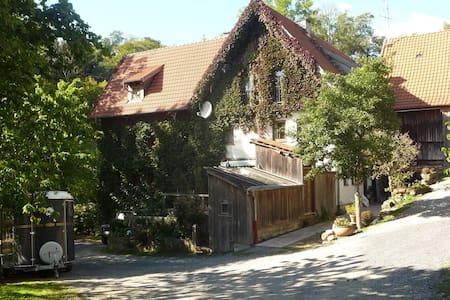 Idyllischer Bauerhof an der Fulda - Apartamento