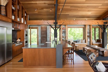 Modern Mountain Lux Ski/Summer Home - Casa