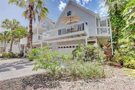 Anna Maria Island villa 3 minute walk to beach - ホームズビーチ - 別荘