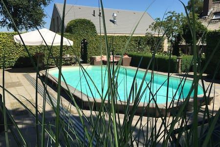 Nieuwe B&B met zwembad, sauna Bedstay kamer - Bed & Breakfast