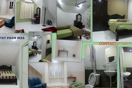 Rooms for rent ( with toilet) - Pasir Mas - Bed & Breakfast