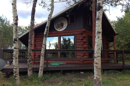 Swiftcurrent River Cabin - Babb - House