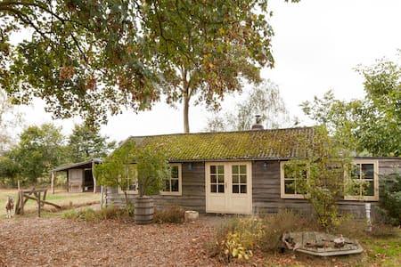 Gezellig huisje midden in de natuur - Uddel - Zomerhuis/Cottage