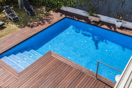 Villa Terramar a 2 minutos de Playa. Piscina - Sitges