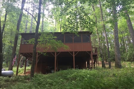 Toccoa Treehouse Cabin - Suches - Hus
