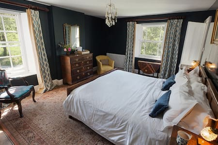 Coombe Farm Goodleigh B&B - Blue room - Bed & Breakfast