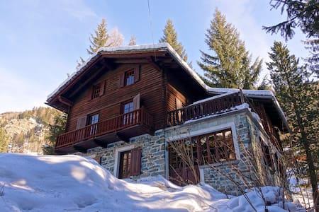 Champoluc chalet near ski slopes - Villa