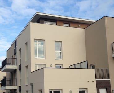 Chambre privative à 35min de Paris - Apartmen