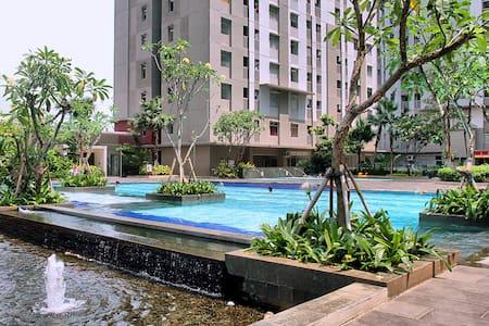 BUDGET ROOM GREENBAY JAKARTA ACWIFI - Apartmen