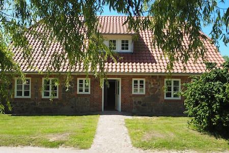 Sehr gemütliches mit 160qm großzügiges Ferienhaus - Zarrentin am Schaalsee - Rumah