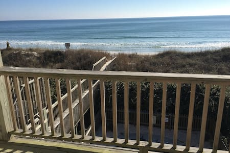 Oceanfront with pool - North Topsail Beach - Haus