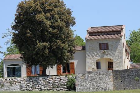 maison au calme piscine / sauna / jacuzzi / repos - Nérac