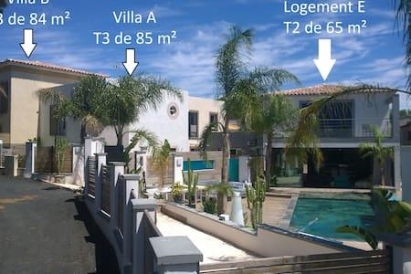 Villa B 84 m2, 2 chambres, jardin et accès piscine - Toulon - Villa