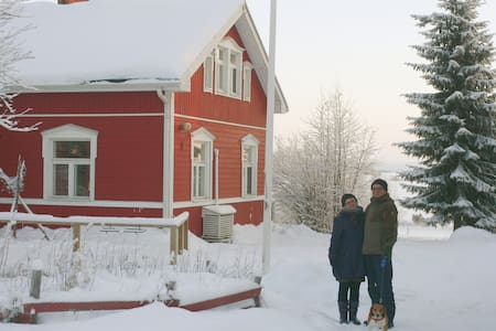 Authentic Lapland homestay - Luusua