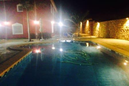 Villa rural  Adelina cerca de mojacar con piscina - Rumah