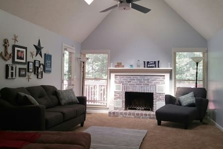 Spacious & Comfortable Home in KC - Kansas City - Hus