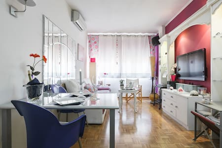CONFORTABLE HAB.IND- CBALCON EN PL.ESPAÑA - Barcelona - Apartment