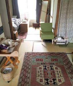 ★Couch-surfing, only 15 minutes from Shinjuku★ - 世田谷区 - Appartement