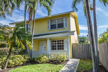 Sunshine cottage by the beach - Delray Beach - House