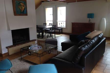 Grand appartement 10 couchages avec terrasse - Fraize - Apartment