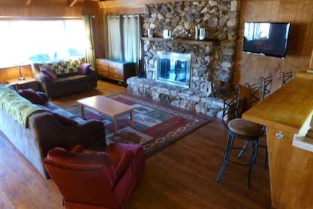 Walk to Bass Lake, sleeps 16 - Bass Lake