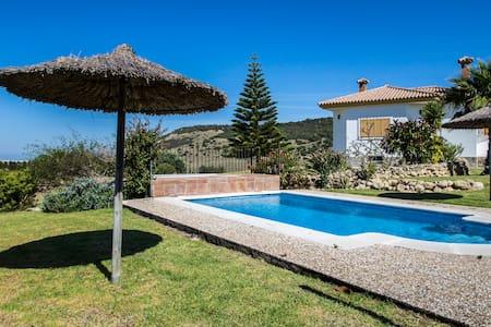 10 bed, pool, garden, sea view - Vejer de la Frontera - Villa