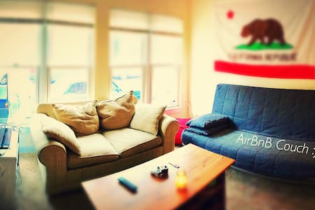 Cozy Couch - 5 Minute walk from Baltimore Stadiums - Huoneisto