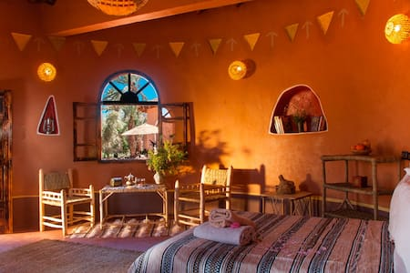 Bungalows africains avec terrasse - Bed & Breakfast