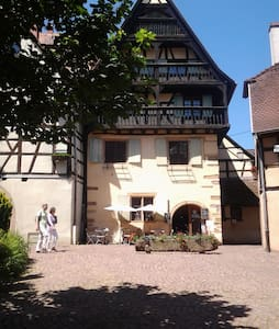 Gite le Chateau au  coeur historique d'Eguisheim - Appartement