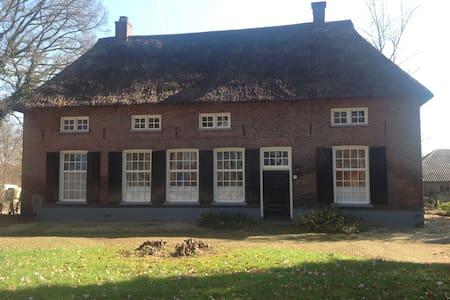 Logeren bij boer Harmsen: Hackfort, Achterhoek - Vorden - Dom