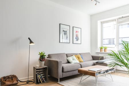 Nordic minimalist apartment in the heart of Oslo - Wohnung